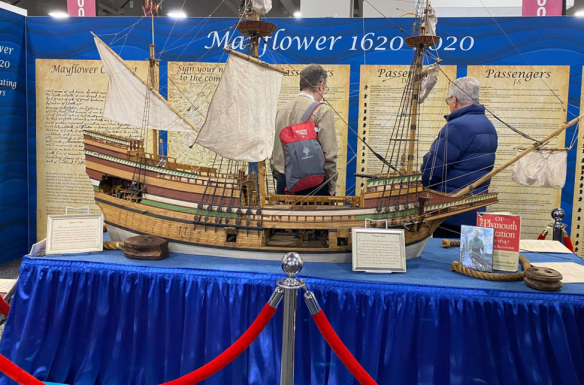 Rootstech 2020 Mayflower replica