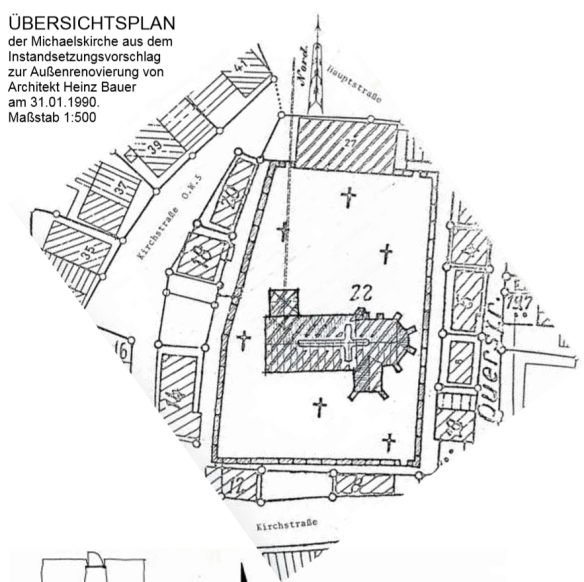 Johannes Haag Michaelskirche layout