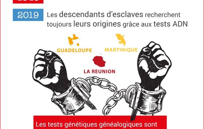 Les descendants d'esclaves des DOM TOM recherchent leurs origines grâce aux tests génétiques généalogiques interdits en France