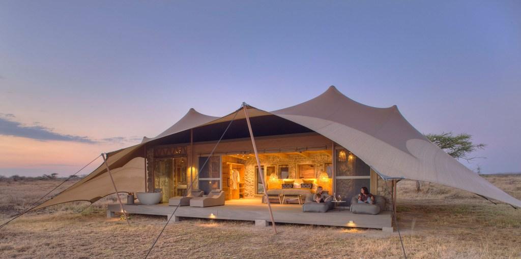 Asilia Namiri Plains lodge, Serengeti, Tanzania