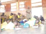 Underpriveleged Basic School in Tamale