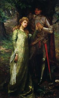 a-knight-and-his-lady-william-g-mackenzie