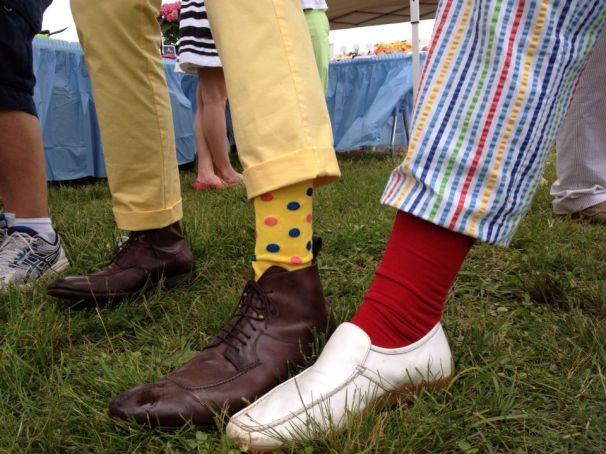 Steeple footwear - crazy socks allowed!
