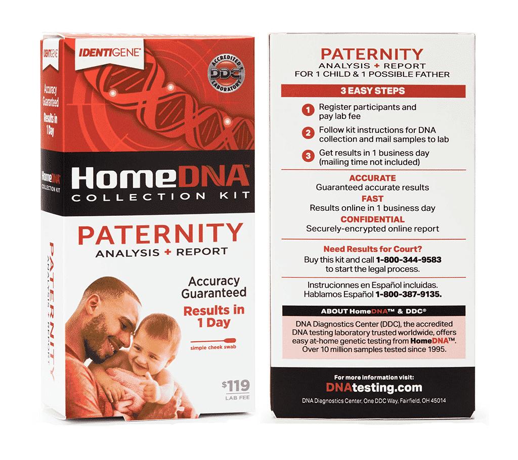 Home Paternity Test Walmart