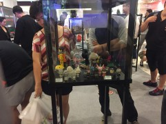 People interested in some of the toys