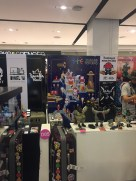 Lots of toy designer and makers stall