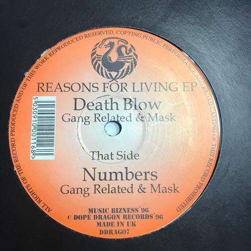 Reasons For Living EP - Gang Related & Mask