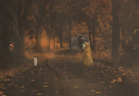 Fall Painting Wallpapers Halloween Ghost Other Amp Nature Background Wallpapers On