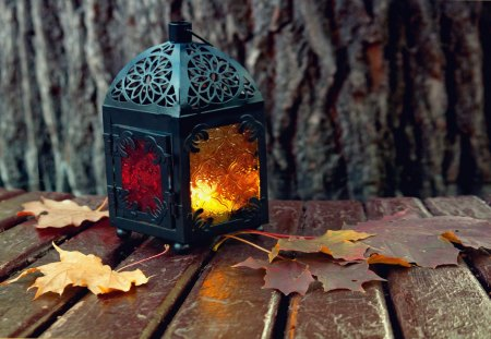 Cozy Fall Hd Wallpaper Autumn Lantern Photography Amp Abstract Background