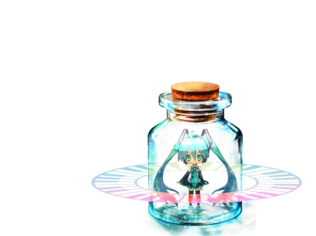 The Cute Wallpapers Ever For Computer Miku In The Jar Other Amp Anime Background Wallpapers On