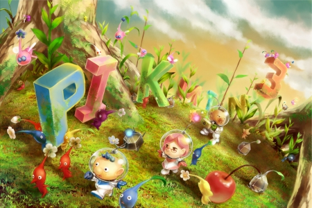 Cute N Sweet Hd Wallpapers Pikmin 3 Other Amp Anime Background Wallpapers On Desktop