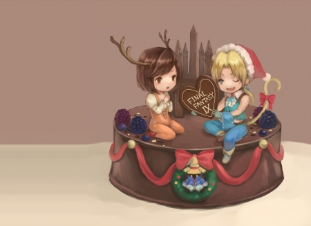 Cute N Sweet Hd Wallpapers Chocolate Cake Final Fantasy Amp Anime Background
