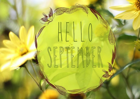 Fall Season Wallpapers Desktop Hello September Flowers Amp Nature Background Wallpapers
