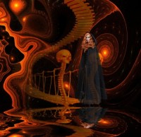 Stairway too Halloween - Fantasy & Abstract Background ...