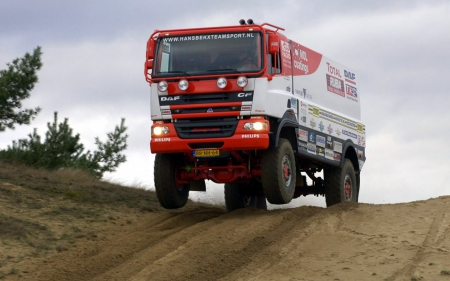 Daf Cf Rally Dakar Racing Truck  Other & Cars Background