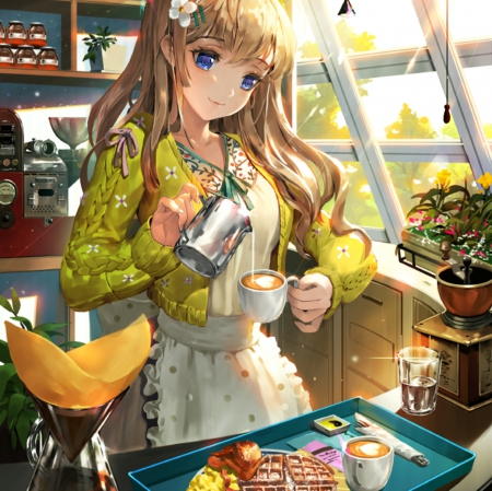 Morning Breakfast  Other  Anime Background Wallpapers on