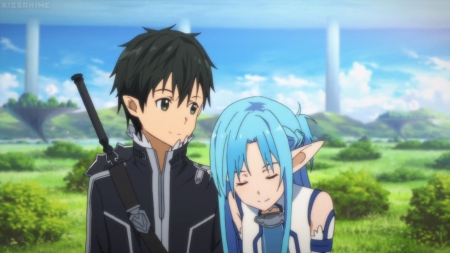 Lovely Girl Boy Wallpaper Kirito ♡ Asuna Other Amp Anime Background Wallpapers On