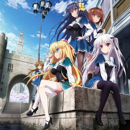 Cute Love Romance Wallpaper Absolute Duo Other Amp Anime Background Wallpapers On