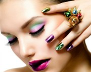 make and nail art - models female