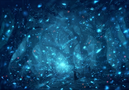 Sparkly Magical Girl Wallpaper Magical Forest Other Amp Anime Background Wallpapers On