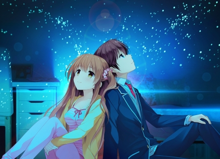 Cute N Sweet Hd Wallpapers Lovely Night Other Amp Anime Background Wallpapers On