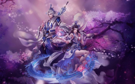 Pretty Anime Girl Wallpapers Chinese Couple Fantasy Amp Abstract Background Wallpapers