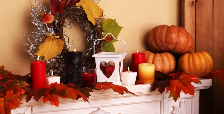 Fall Heart Leaves Background Wallpaper Autumn Decor Photography Amp Abstract Background