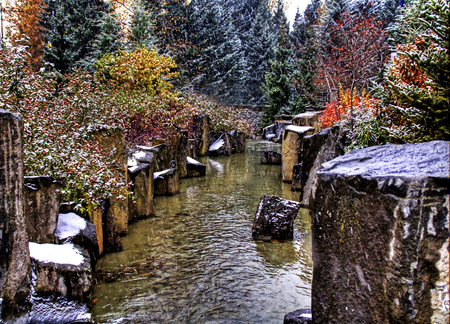 Pretty Fall Wallpapers Early Winter Winter Amp Nature Background Wallpapers On