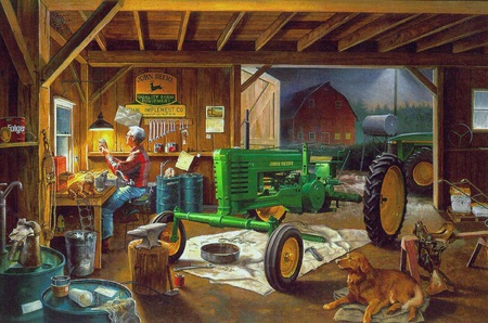 Charles Freitag Legacy Of John Deere Other Amp Abstract