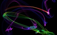 ABSTRACT NEON - 3D and CG & Abstract Background Wallpapers ...