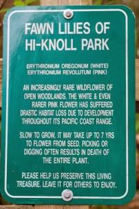 Hi-Knoll Park sign (TC)