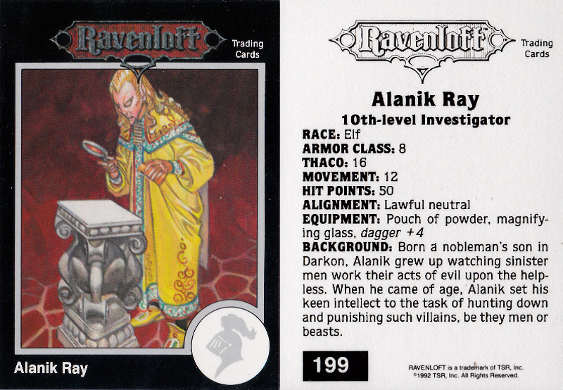 Alanik Ray - Dungeons & Dragons Board-Game Campaign (house-rules)