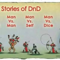 WoMan versus DnD