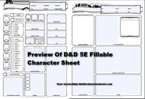 dungeons dragons 5e character