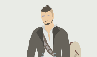 Human male bard in pirate coat and boots with lute and rapier