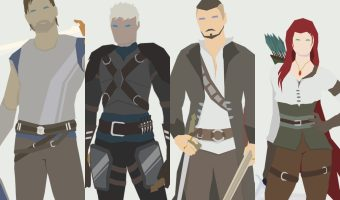 picture of four characters