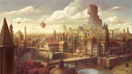 quests fantasy empire metropolis airship digital