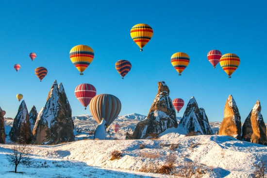 6 Nights - 7 Days Anatolia Tour Package by Bus + Flight