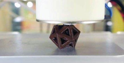 3D-tiskalnik čokolade podjetja 3DSystems. (vir: 3dprintingindustry.com)