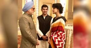 Here's how Aahana landed the role of Priyanka Gandhi in her next film hot aahana  aahana to priyanka