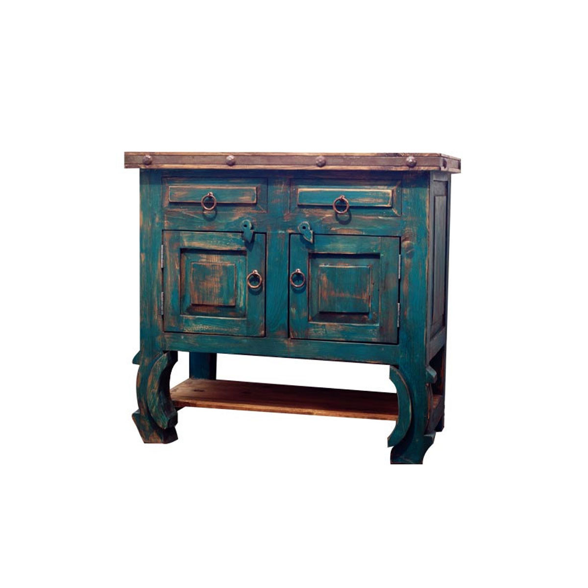 Vanities Bathroom Rustic Turquoise Bathroom Vanity