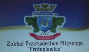 """Zakład Przetwórstwa Mięsnego """"Protasiewicz"""", Tadeusz Protasiewicz, Ejszeryszki11, 16-406 Rutka Tartak, NIP 8441707885"""