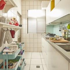 Ikea Kitchen Remodel Restore Cabinets 改造15 年中古廚房 成就完美餐廚空間夢想 設計家searchome 運用家具櫃體 Metod 系統廚櫃組合 Raskog 推車nt