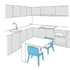 60 Inch Kitchen Table Wood Mode Cabinets Point 3 餐廚餐廚合一的尺寸比例 設計家searchome 餐廳和廚房 傳統觀念中不可或缺的居家配置 受現代居住環境不斷被壓縮的影響 它們的存在卻逐漸變成一種奢侈 加上現代人生活習慣變化 居家餐廚使用頻率下降 如何