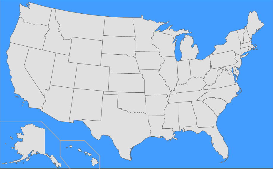 find the us states