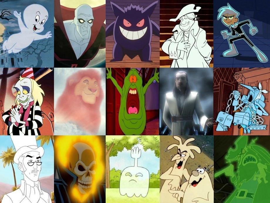 Click The Cartoon Ghost Quiz