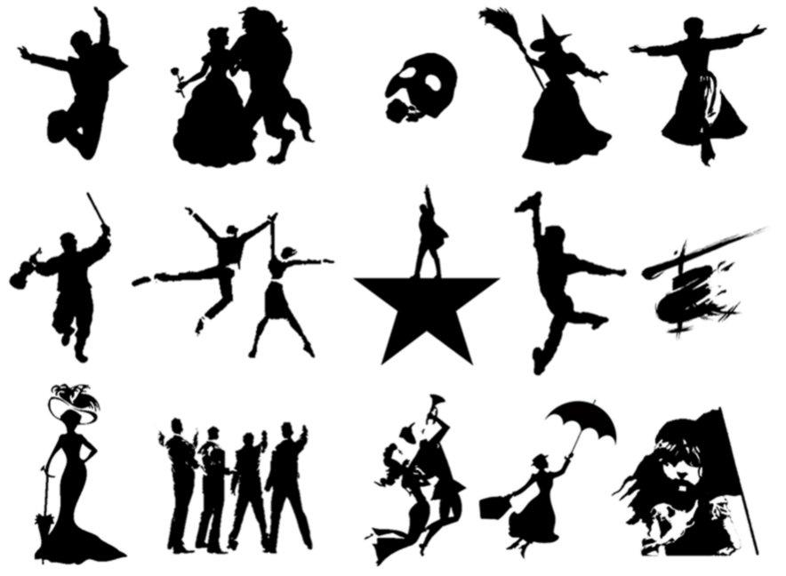 Silhouettes: Broadway Musicals Quiz
