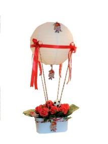 Φανατική ομορφιά Δώρο με φανατική υποστήριξη στην ομάδα με λουλούδια