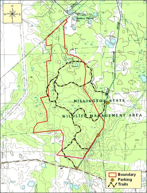 Maryland Public Hunting Land Map : maryland, public, hunting, Millington