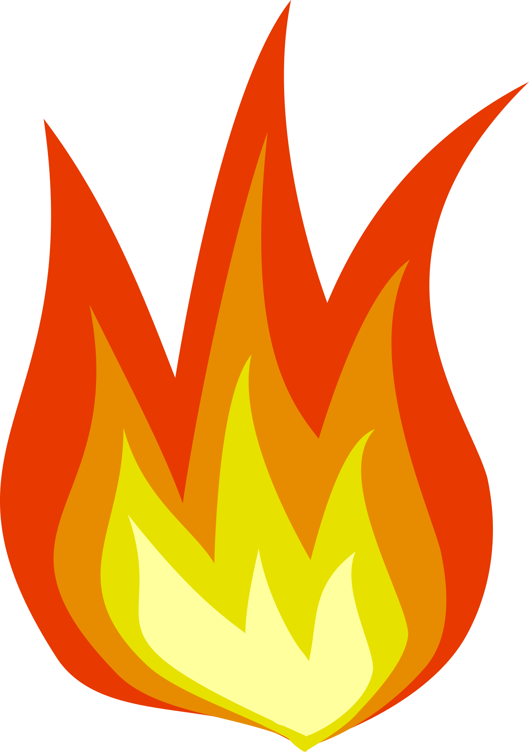 hight resolution of fire clipart